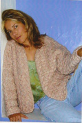 Dolce Handknits Knitting Pattern WPFI-0507 Port Fairy Cabled Cardigan