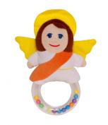 My Guardian Angel Baby Rattle Plush Toy