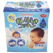 540 Sheets Soft Wipes Cotton Made In Japan