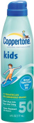 Coppertone Kids Clear Continuous Sunscreen Spray - SPF 50 - 180ml