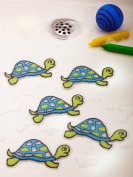 Bathtub Stickers Turtles - Safety Decals Treads Non Slip Anti-skid Shower Applique
