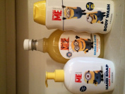 Despicable Me Bath Set. Includes Hand Soap Bubble Bath and Body Wash