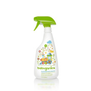 BabyGanics The Cleaner Upper Unscented Toy & High Chair Cleaner - 470ml