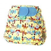 Tots Bots 2.3-8.2kg Stretchy Wrap Humpty Print