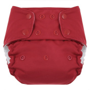 Swaddlebees One Size Simplex All In One Nappies, Red