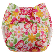 Swaddlebees One Size Simplex All In One Nappies, Butterflies