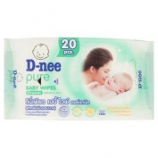 D-nee a Wet Wipes Skin 20 sheet
