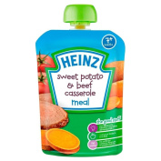 Heinz Mashed Sweet Potato & Beef Casserole 7mth+