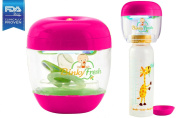 #1 Pacifier & Baby Bottle Nipple UV Sanitizer. Clinically Tested & Proven, FDA Reg. Kills up to 99.9% of Germs & Bacteria! The Only UV Baby Sanitizer That Is Disease Specific!