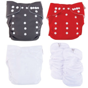 Trend Lab Cloth Nappy Starter Set (5 Pcs.) - SCS