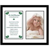 Baptism Gifts - Keepsake Frame - Add Photo of Baby