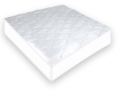 Suvelle Mattress Pad Cover Protector For Baby Crib / Toddler Bed , 100% Waterproof Without Sweating Vinyl Free, Superior Quality And Protection In The Most Comfortable Way, Cotton Fitted Sheet Style, Breathable Quilted Top Protects From Dust, Germs, Fl ..