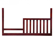 Westwood Design Waverly Cottage Toddler Guard Rail, Chocolate Mist