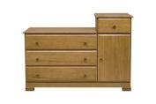 Davinci Kalani Combo Dresser, Chestnut