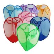 Home Useful Foldable Pop up Washing Laundry Basket Bag Bin Hamper Storage