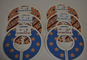 Stars & Stripes Themed Baby Closet Dividers