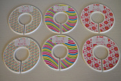 Pink & Yellow Baby Closet Dividers
