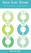 Green with Envy Baby Closet Dividers
