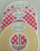 Strawberry Baby Closet Dividers