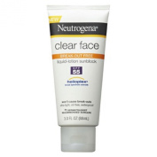 Neutrogena Clear Face Liquid Lotion Sunscreen Broad Spectrum SPF 55