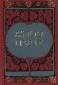 As You Like it Minibook