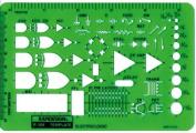 Rapidesign Electro-Logic Symbol Template, 1 Each