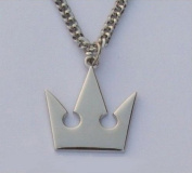 MKPLY Kingdom Hearts II Sora Roxas Crown Necklace Pendant for Cosplay