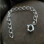 Necklace Bracelet Chain Extender ~ .925 sterling-silver ~ 7.6cm Length