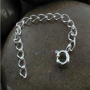Necklace Bracelet Chain Extender ~ .925 sterling-silver ~ 7.6cm Length