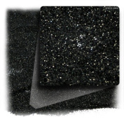 The Crafts Outlet Polyester Glitter Dust Metallic Powder, 30ml, Black