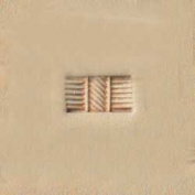 Tandy Leather Craftool Basketweave Stamp 6510-00