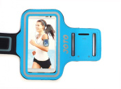 JOTO iPhone 6 4.7 Armband - Sport Armband Case for iPhone and Samsung Galaxy (iPhone 6 4.7, iPhone 5S 5C 5 4S 4, Galaxy S5 S4 S3), with Key Holder Slot, Fully Adjustable, Easy Earphone Connexion, best for Gym, Sports Fitness, Running , Exercise , Work ..