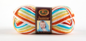 Lion Brand Yarn 881-205 Jamie Yarn, Caribbean Stripes