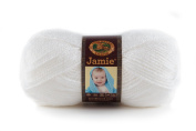 Lion Brand Yarn 881-100 Jamie Yarn, Angel White
