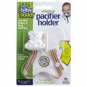 Baby Buddy Universal Pacifier Holder, Sherbet Swirl