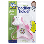 Baby Buddy Universal Pacifier Holder, Pink