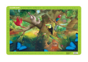 Crocodile Creek Rainforest Animals Placemat