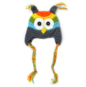 NEW Infant Crochet Owl Hat