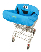 ABC Fun Pads Cookie Monster Shopping Cart Cover, Blue