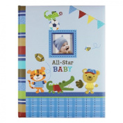 "Baby's First Memmory Book ""All-star Baby"" Animals Playing Sports"