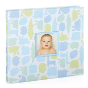 Pearhead Signature Collection Baby Book, Blue