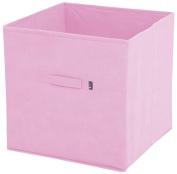 JoJo Maman Bebe Fabric Storage Cube, Pink