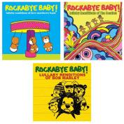 Rockabye Baby Lullaby Renditions 3 CD Set, Dave Matthews/Beatles/Bob Marley