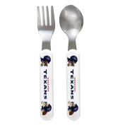 Baby Fanatic Fork and Spoon Set, Houston Texans