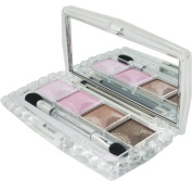 Jewel Crystal Eyes N Palette (4xEye Color, 1xApplicator) - # 05 Peridot Harmony, 6g/0.21oz