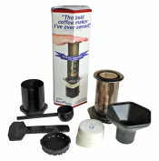 Aerobie Aeropress Model A80 Coffee and Espresso Maker with 350 Filters