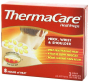 ThermaCare Air-Activated Heatwraps, Neck, Wrist & Shoulder, 3 HeatWraps
