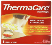 ThermaCare Air-Activated Heatwraps, Neck, Wrist & Shoulder, Pack of 6