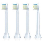 Replacement Mini Bush Heads Fits for Philips Sonicare Toothbrush Diamondclean Heads 4-pack Hx6074/05