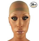 BlueTop(TM) Wig Cap (24 Pack) Colour Neutral
